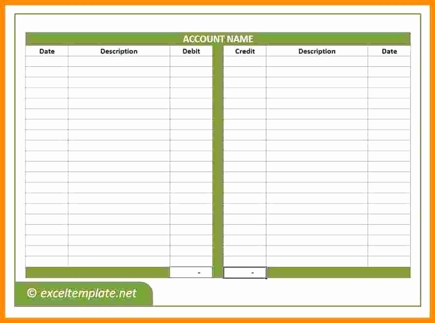 Accounts Receivable Ledger Excel Template Fresh Bookkeeping Ledger Template – Onlineemilyfo