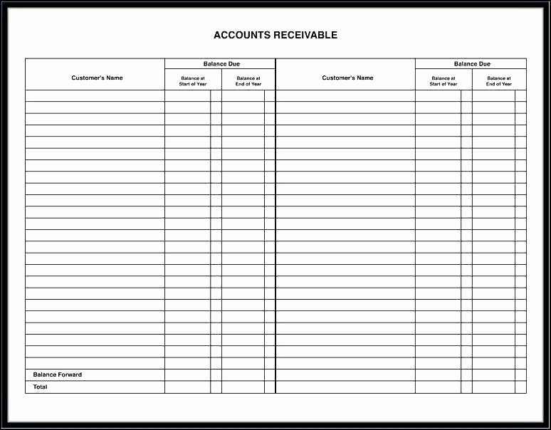 Accounts Receivable Ledger Excel Template Lovely Accounts Payable Excel Spreadsheet Template Excel