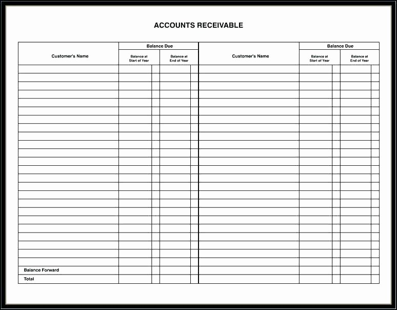 Accounts Receivable Ledger Excel Template Luxury Free Printable Weekly Template Quotes Ledger for Resume