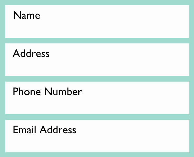 Address and Phone Number Template Elegant Resume Writing Contact Information Page 1