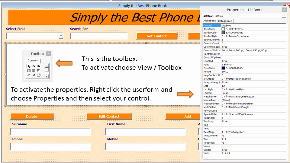 Address Book Online Free Download Best Of Excel Phone Book Contact Manager Excel 2010 Line