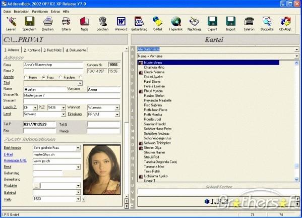 Address Book Online Free Download Elegant Download Free Addressbook 7 0 for Windows Addressbook 7 0