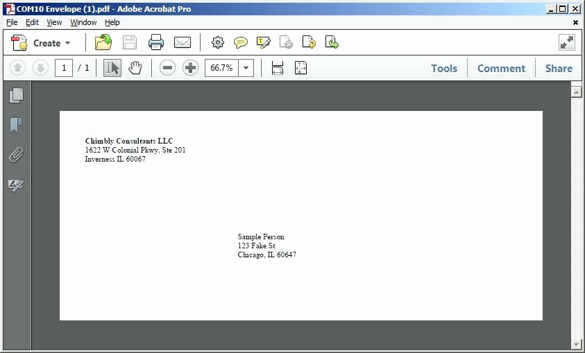 Address Book Template Google Docs Lovely Free Template Envelope with Your Return Address Google