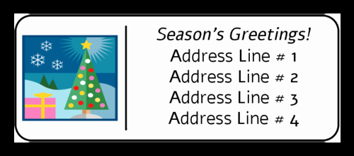 Address Labels 30 Per Page Best Of Free Christmas Return Address Label Templates 30 Per Sheet
