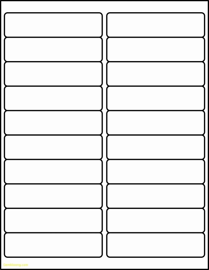 Address Labels 30 Per Page Best Of Labels Per Sheet Template Excel Avery Xerox Address