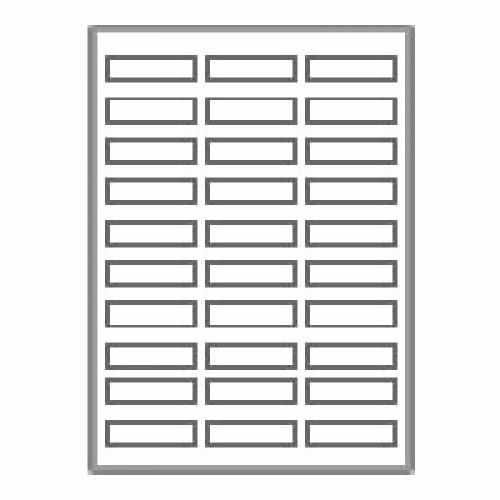 "Address Labels 30 Per Page Inspirational 3000 Neato Address Labels 30 Per Sheet 2 5 8"" X 1"