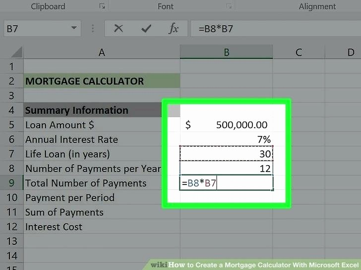 Adjustable Rate Mortgage Calculator Excel Beautiful Calculate Adjustable Rate Mortgages Using Ms Excel