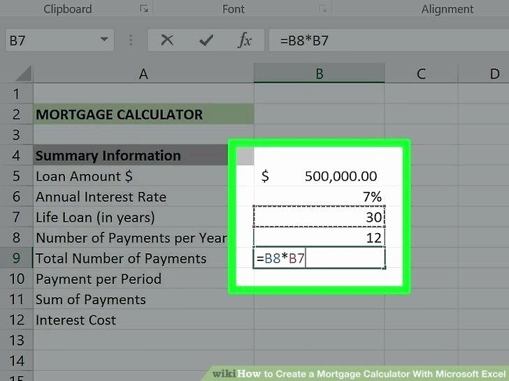 Adjustable Rate Mortgage Calculator Excel Beautiful Calculate Adjustable Rate Mortgages Using Ms Excel