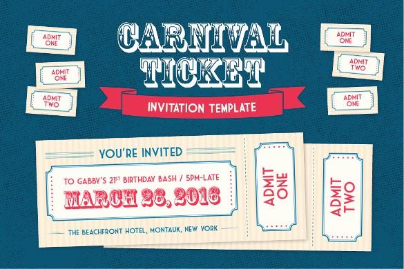 Admission Ticket Invitation Template Free Elegant 61 Ticket Invitation Templates Psd Vector Eps Ai