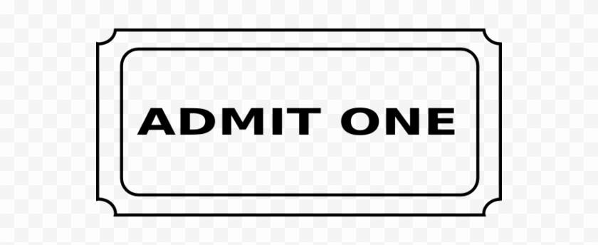 Admit One Movie Ticket Template Awesome Movie Ticket Clip Art Cinema Tickets Powerpoint Admit