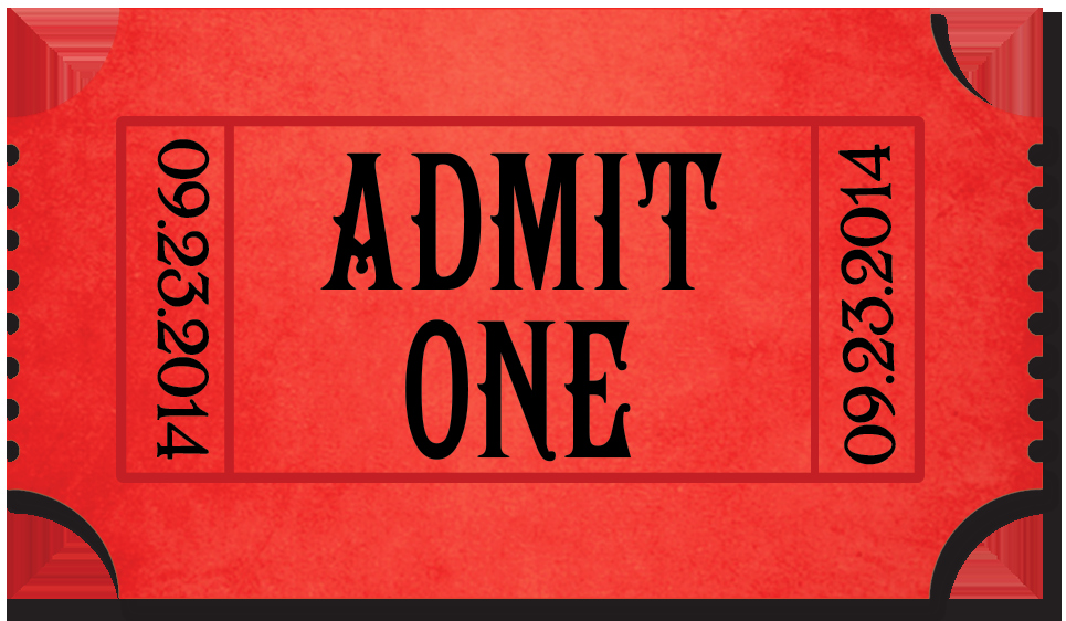 Admit One Movie Ticket Template Beautiful Movies – My Deal Diary