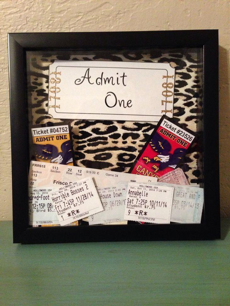 Admit One Movie Ticket Template Inspirational Best 25 Admit One Frame Ideas On Pinterest