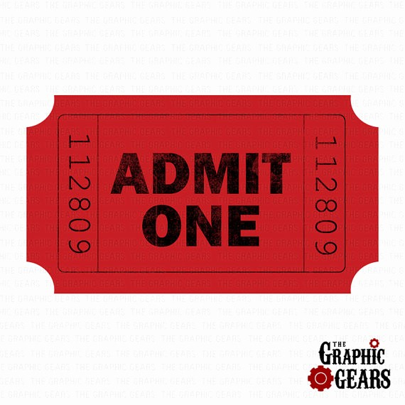 Admit One Movie Ticket Template New Admit E Ticket Clipart Clipart Suggest