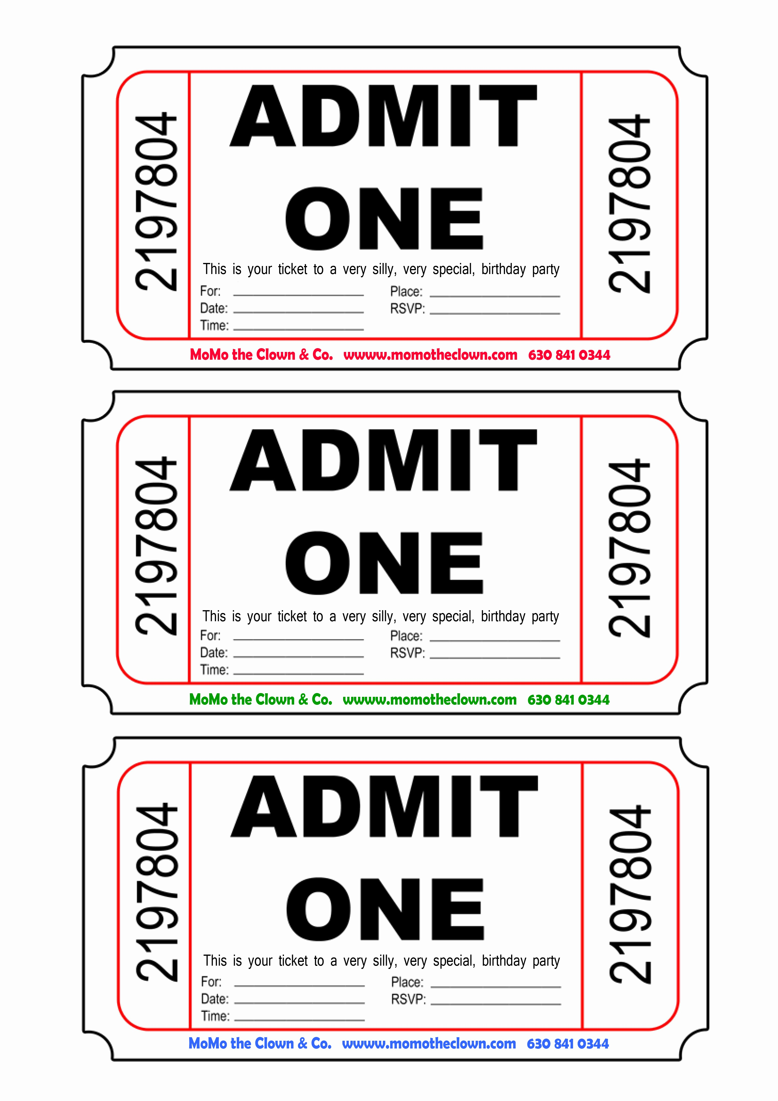Admit One Ticket Invitation Template Best Of Super Admit E Party Invitations Mn55