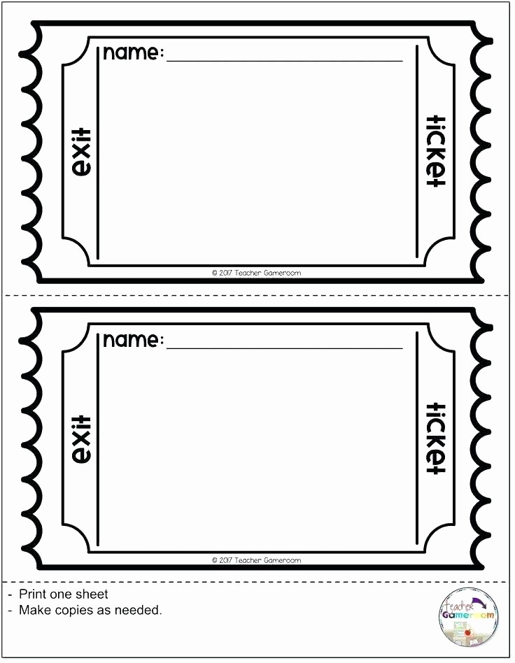 Admit One Ticket Template Printable Awesome Admit Ticket Template Admission Tickets Template Circus