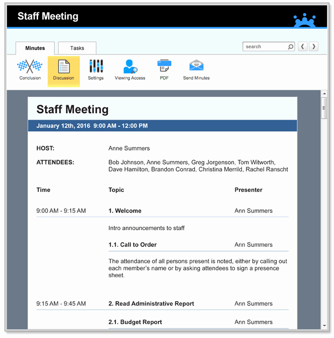 Agenda Example for Staff Meeting Luxury Staff Meeting Agenda Templates