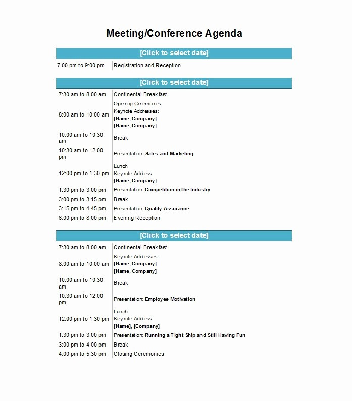 Agenda format for A Meeting Luxury 46 Effective Meeting Agenda Templates Template Lab