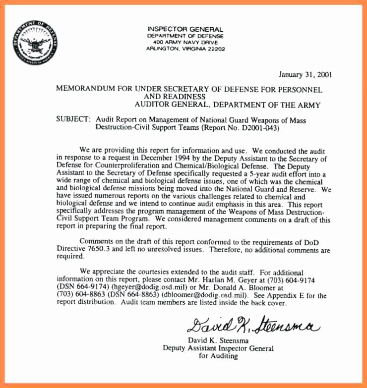Air force Fax Cover Sheet Elegant Memorandum Department Defense Letterhead Template