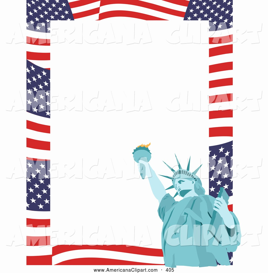 American Flag Border for Word Beautiful Royalty Free 4th Of July Stock Americana Designs Page 5