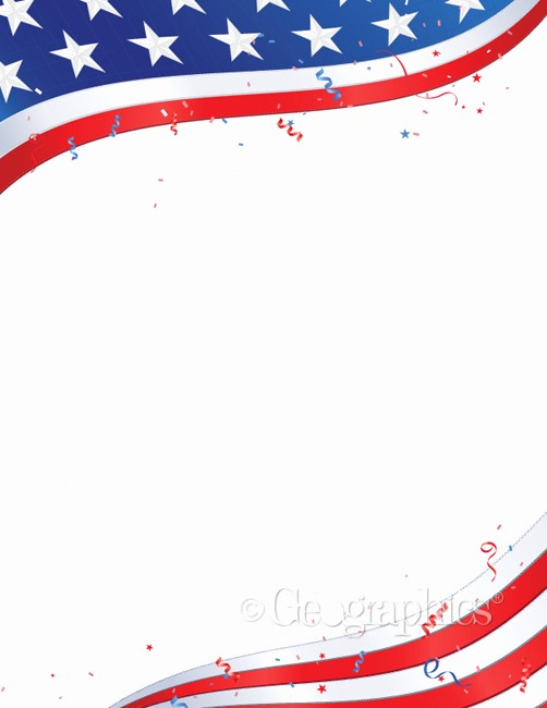 American Flag Border for Word Best Of 6 Best Of Printable Patriotic Stationery Free