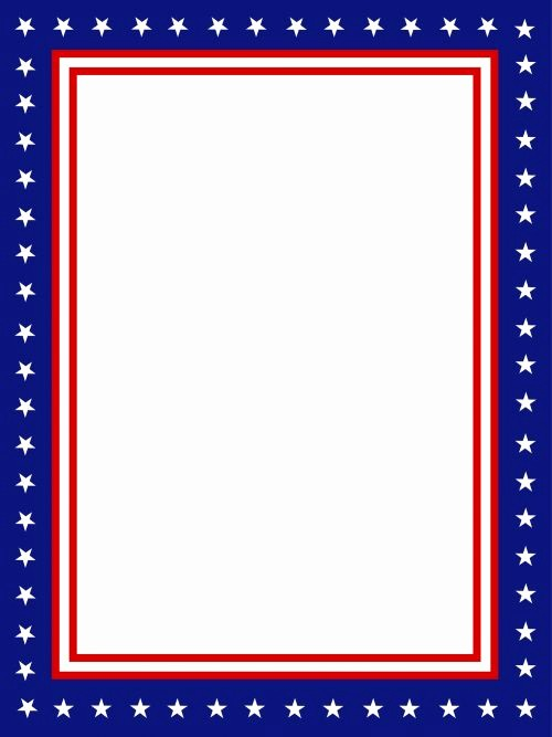 American Flag Border for Word Best Of Free Gift with This Page Click Usa Presidential