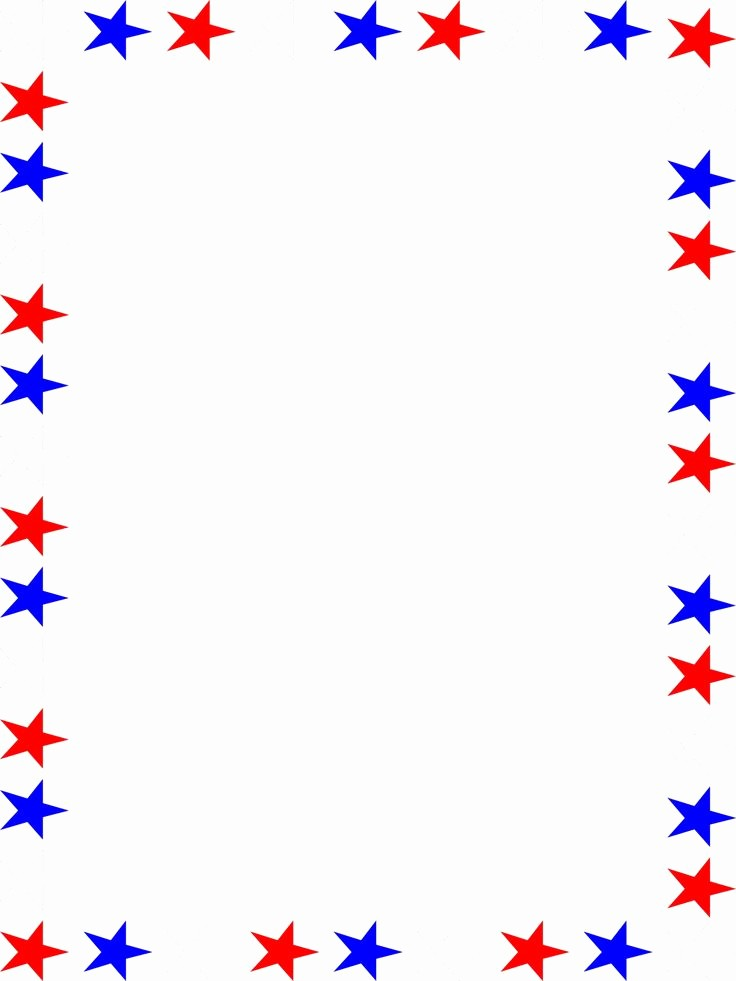 American Flag Border for Word Fresh Clipart Of Image Can Stock Patriotic Frames Bordered with