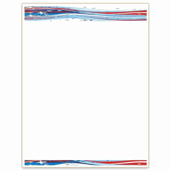 American Flag Border for Word Inspirational 10 Patriotic Templates for Ms Word Perfect for July 4th