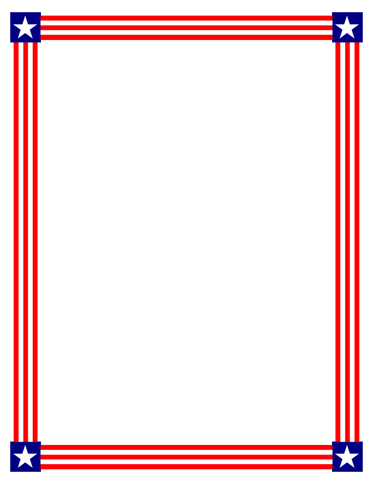 American Flag Border for Word Lovely Free American Flag Page Border Download Free Clip Art