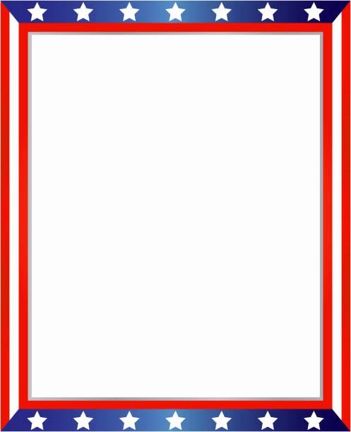 American Flag Border for Word Luxury Patriotic Border Clip Art – 101 Clip Art