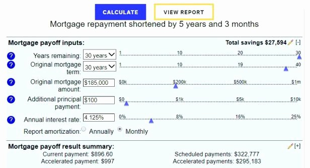 Amortization Chart with Extra Payments Fresh Amortization Schedule Excel formula Loan Sample Home