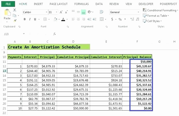 Amortization Table with Balloon Payment Beautiful Loan Repayment Excel Template Amortization Schedule with