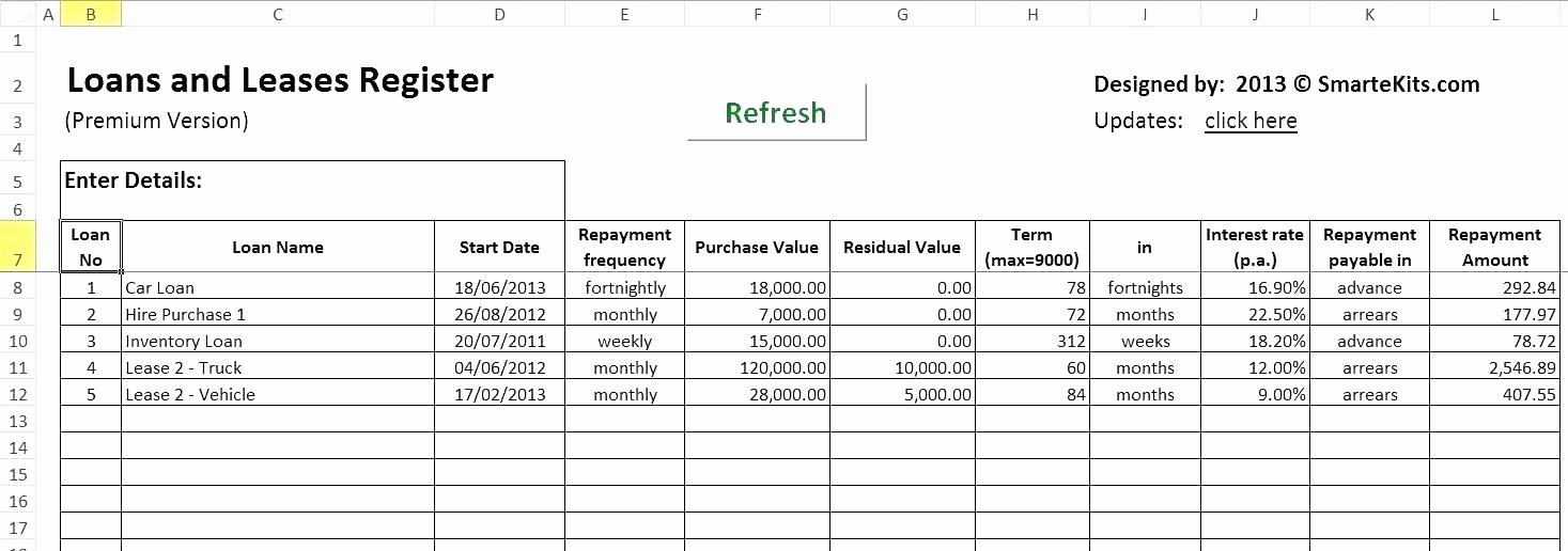 Amortization Table with Balloon Payment Best Of Amortization Schedule with Balloon Payment Excel Loan