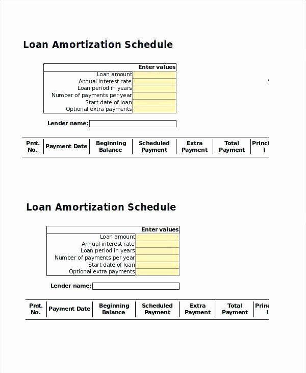 Amortization with Balloon Payment Calculator Inspirational Loan Repayment Excel Template Amortization Schedule with