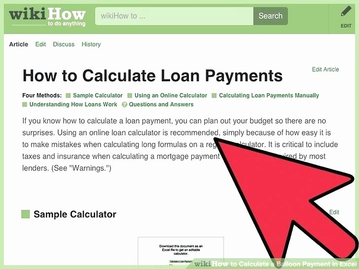 Amortization with Balloon Payment Calculator Lovely Auto Loan Amortization Schedule Excel – 101juegosub