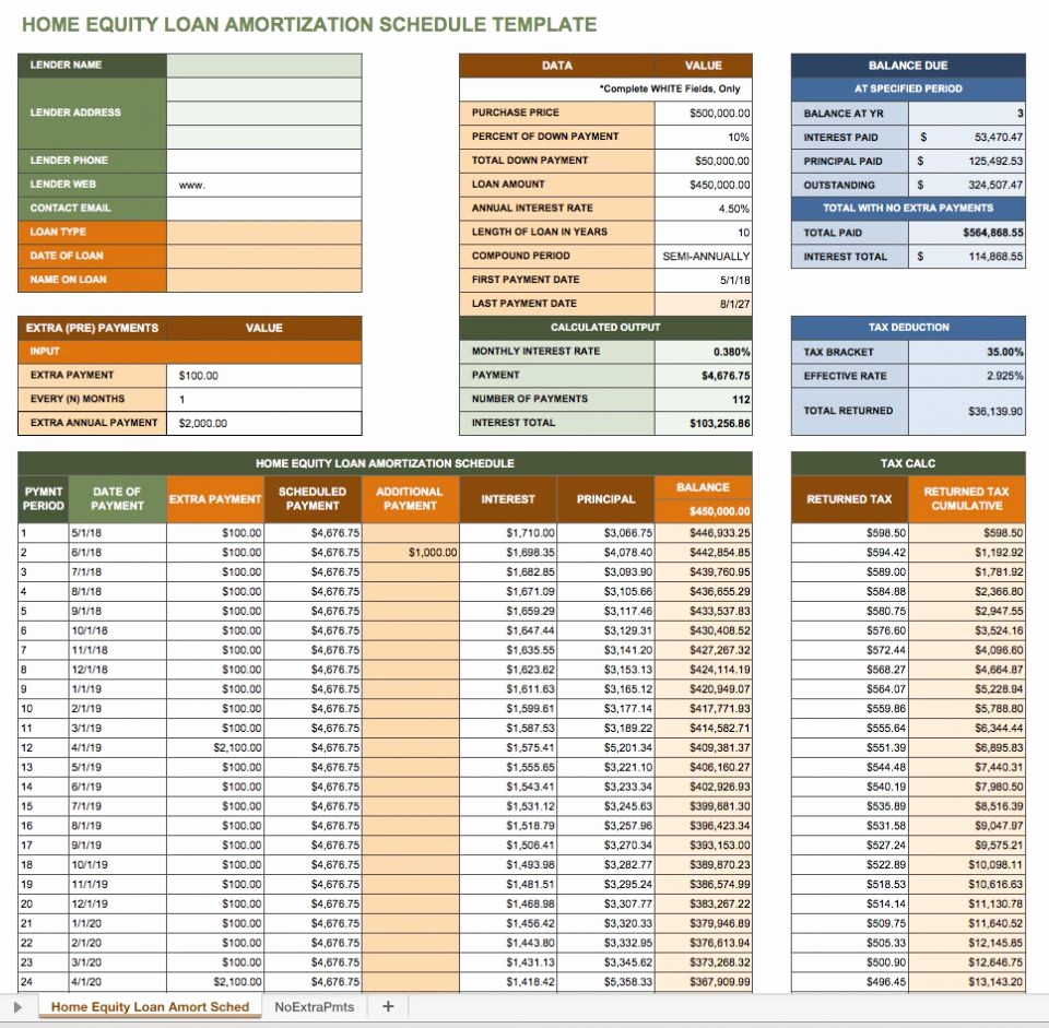 Amortize A Loan In Excel Awesome Free Excel Amortization Schedule Templates Smartsheet