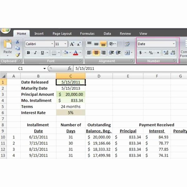 Amortize A Loan In Excel Luxury How to Make A Loan Amortization Table In Excel with Free