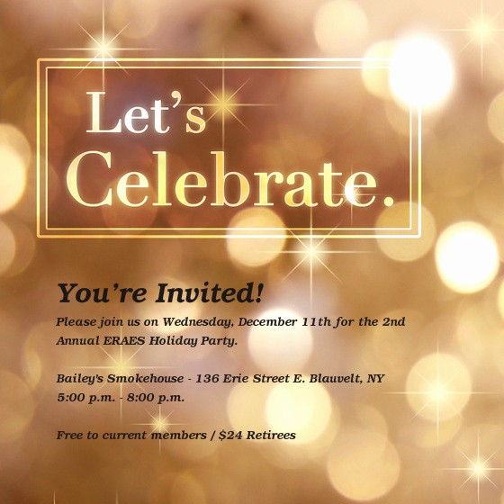 Annual Holiday Party Invitation Template Awesome 2nd Annual Eraes Holiday Party Line Invitations & Cards