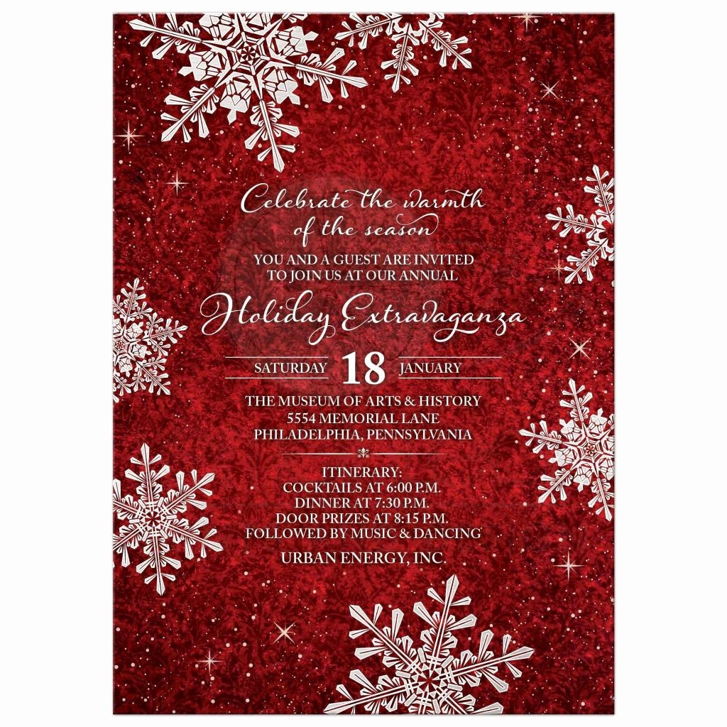 Annual Holiday Party Invitation Template Awesome Annual Holiday Party Invitation Template Fwauk