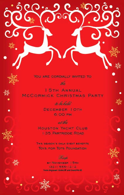 Annual Holiday Party Invitation Template Awesome Fall Paper Fall Stationery for Special events