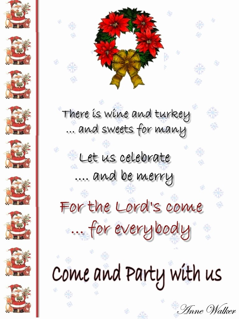 Annual Holiday Party Invitation Template Beautiful Christmas Invitation Template and Wording Ideas