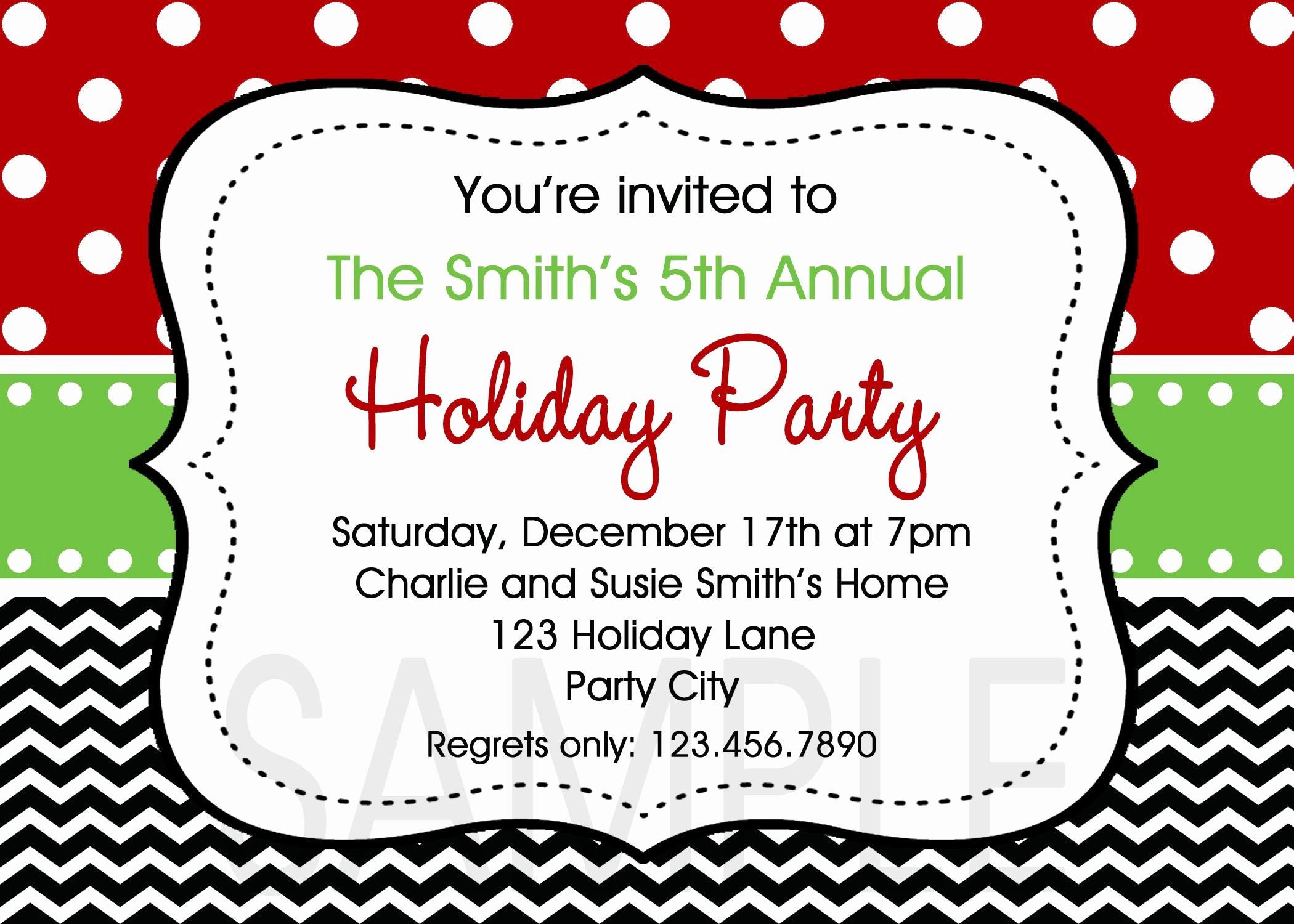 Annual Holiday Party Invitation Template Elegant Annual Holiday Party Invitation Template New Open Hous