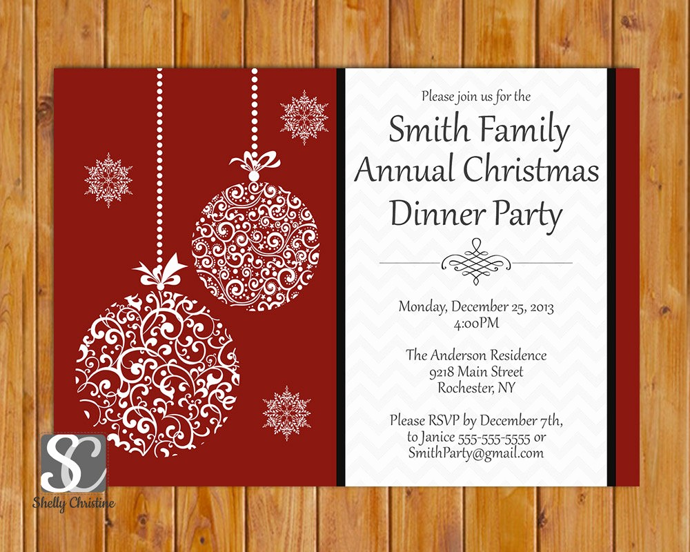 Annual Holiday Party Invitation Template Fresh top 28 Annual Christmas Invitations Annual Christmas