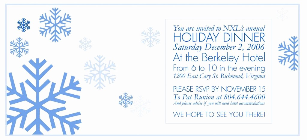 Annual Holiday Party Invitation Template Lovely Annual Holiday Party Invitation Template Fwauk