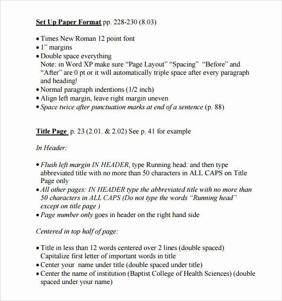 Apa 6th Edition Paper format Best Of Best S Of Outline Template Apa 6th Ed Apa Outline