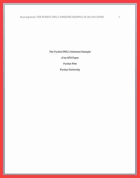 Apa format Cover Page 2017 Unique Apa Title Page format 2016