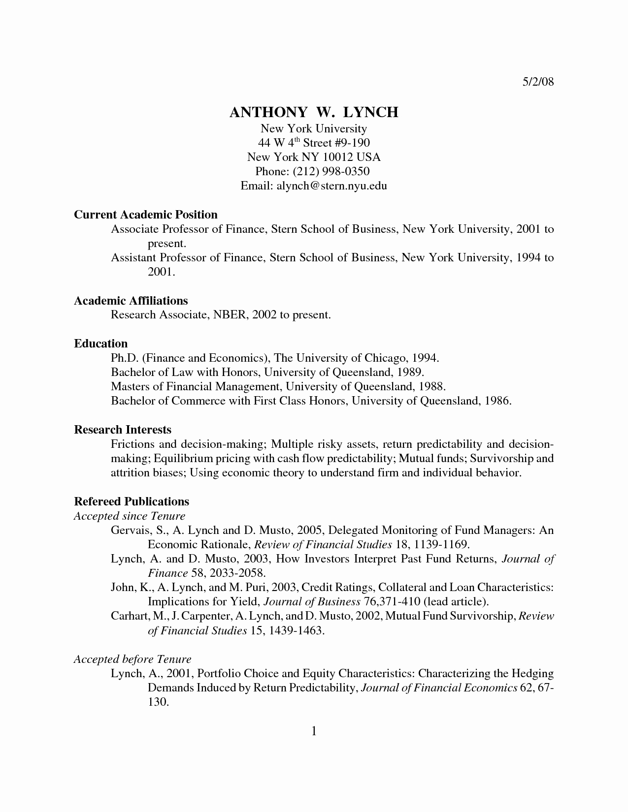 Apa format Example Paper Template Fresh Apa Undergraduate Research Paper Bamboodownunder