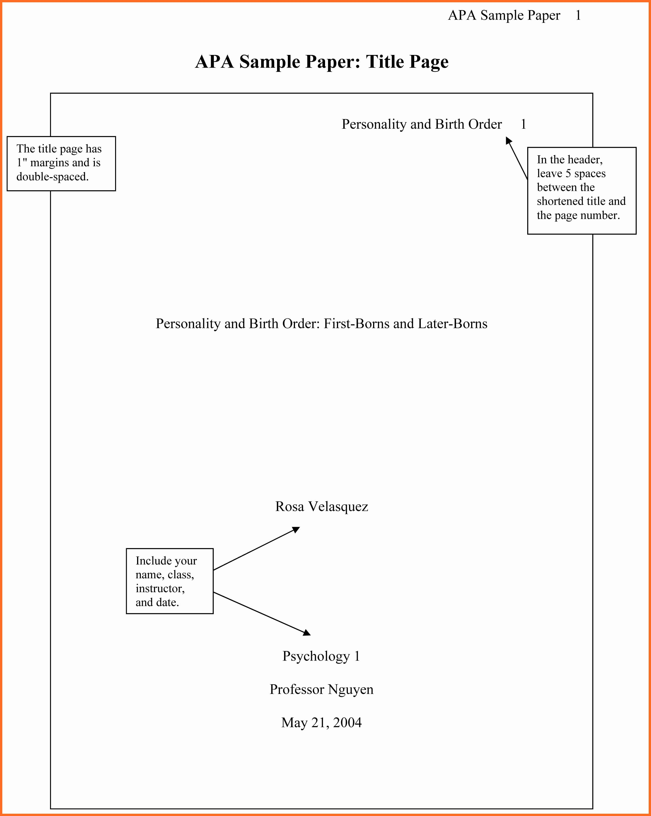 Apa format Example Paper Template Lovely 16 Apa formatting Example