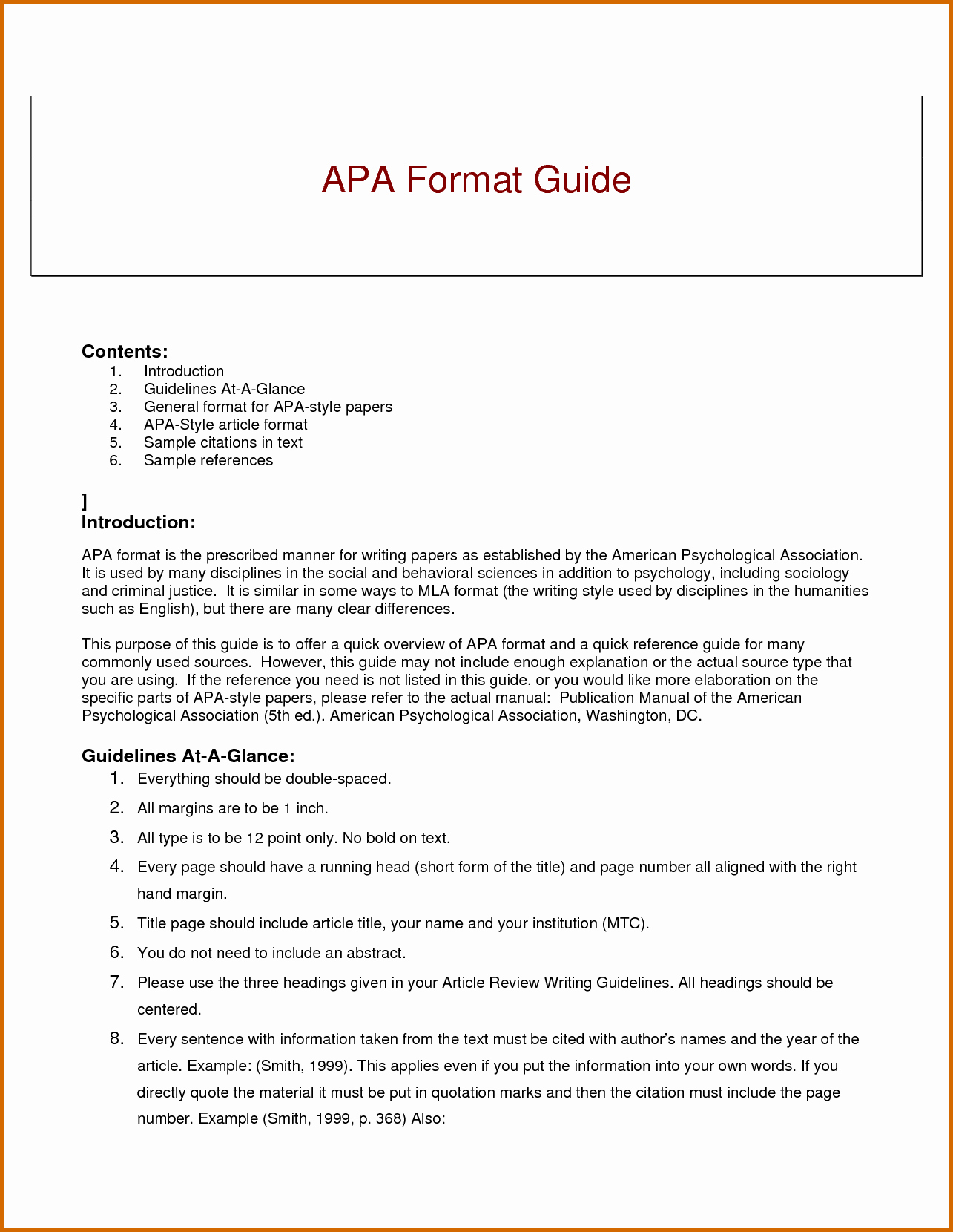 Apa format Example Paper Template Unique 5 Images In Apa format