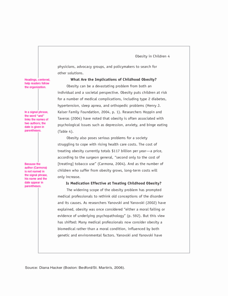 Apa format Example Paper Template Unique Apa Research Paper Example Free Download