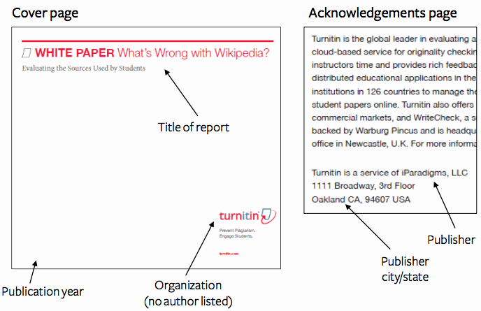 Apa format for A Report Awesome How to Cite A Report In Apa Easybib Blog